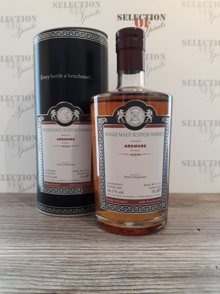 Malts of Scotland ARDMORE 2008/2019 matured in a Sherry Hogshead