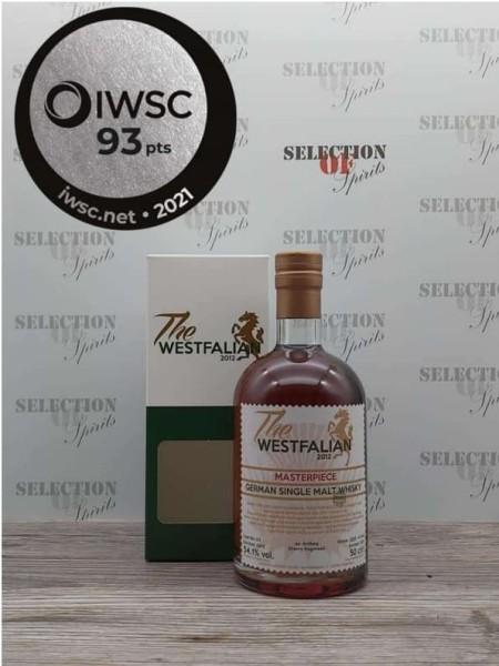 THE WESTFALIAN 2013/2021 Cask 53 MASTERPIECE III German Single Malt -Peated-