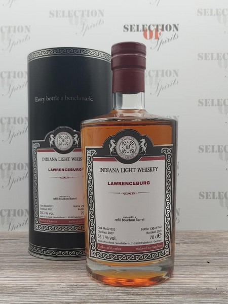 Malts of Scotland LAWRENCEBURG 2007/2021 refill Bourbon Barrel