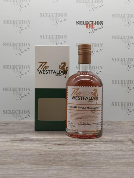 THE WESTFALIAN 2013/2020 Cask 54 German Single Malt ex.Caol Ila Sherry Hogshead -peated-