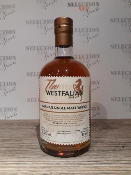 THE WESTFALIAN German Single Malt Whisky ex.Glenrothes Sherry Hogshead