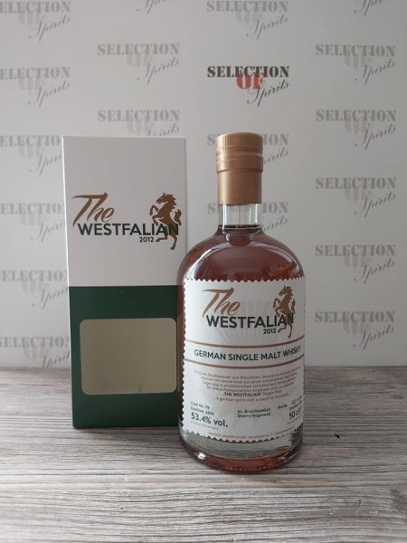 THE WESTFALIAN German Single Malt Whisky 2014/2019 ex.Bruichladdich Sherry Hogshead
