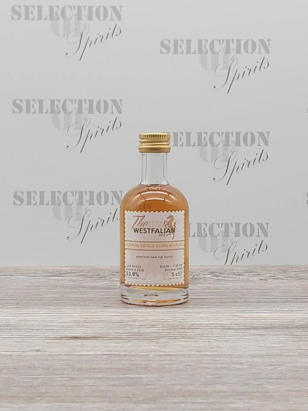 THE WESTFALIAN 2015/2020 Cask 103 Miniatur German Single Corn Whiskey