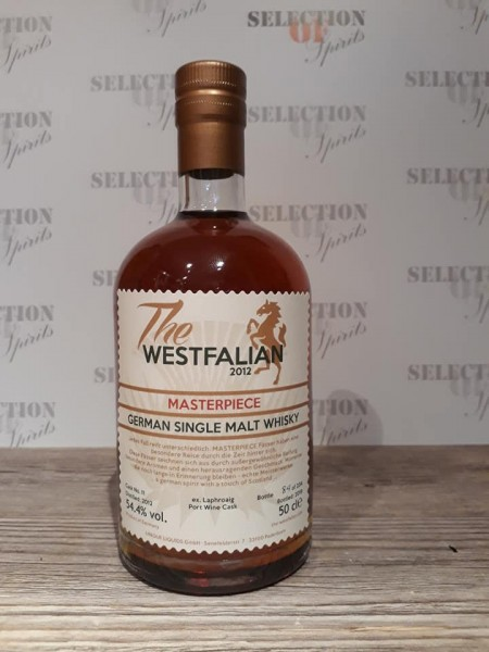 "THE WESTFALIAN ""Masterpiece"" ex.Laphroaig Port Wine Cask"