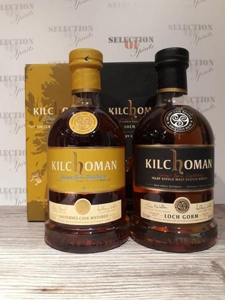 Kilchoman SET Sauternes Cask Matured 2016 & Loch Gorm 2016