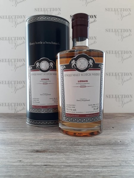 Malts of Scotland LEDAIG 2008/2019 matured in a Sherry Hogshead