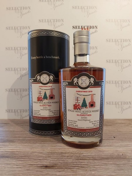 Malts of Scotland Glenrothes Christmas 2019 Matured in a Sherry Hogshead