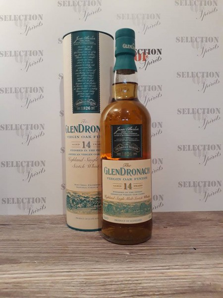 "Glendronach Wood Finish 14yo VIRGIN OAK ""2010"""