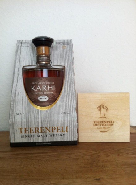 "Teerenpeli ""KARHI"" - Madeira Finish Single Malt from Finnland"
