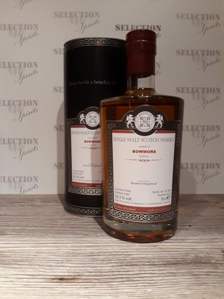 Malts of Scotland BOWMORE 2000/2019 matured in a Bourbon Hogshead