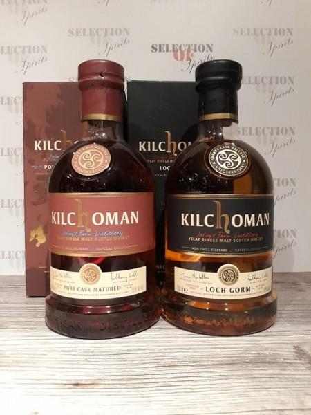 Kilchoman SET Port Cask Matured 2014 & Loch Gorm 2014