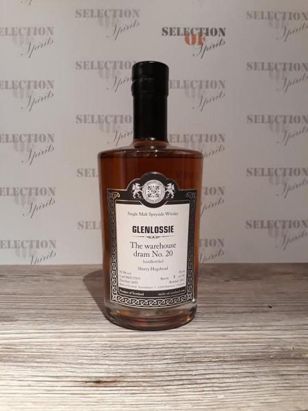 Malts of Scotland Warehouse dram No.20 GLENLOSSIE Sherry Hogshead
