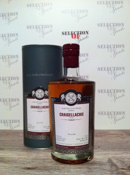 Malts of Scotland Craigellachie 1995/2016 Sherry Butt