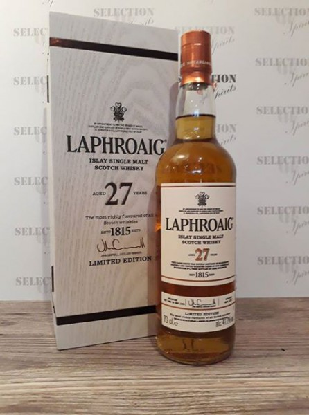 Laphroaig 27yo Limited Edition 2017 in Holz Box
