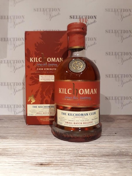 Kilchoman -The Kilchoman Club - 4th Edition- Sauternes Wine Casks