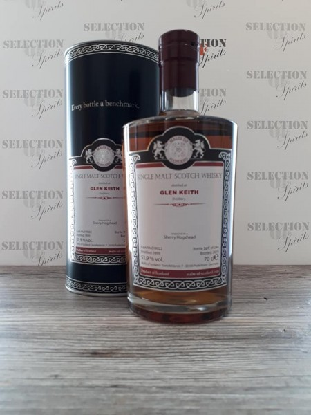 Malts of Scotland GLEN KEITH 1999/2019 matured in a Sherry Hogshead