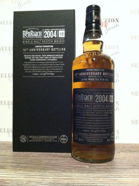 The Benriach 2004 10th Anniversary Bottling