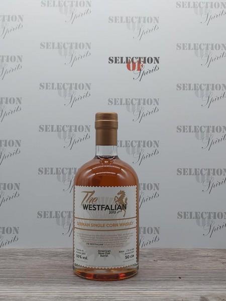 THE WESTFALIAN German Single Corn Whisky 2014/2017 American New Oak Barrel