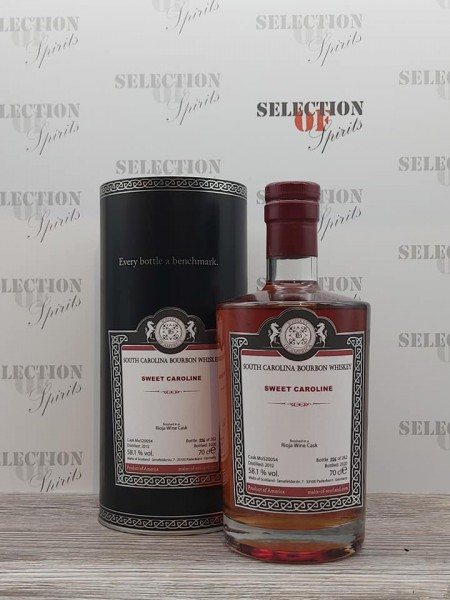 Whiskey of America SWEET CAROLINA 2012/2020 Rioja Wine Cask Finish