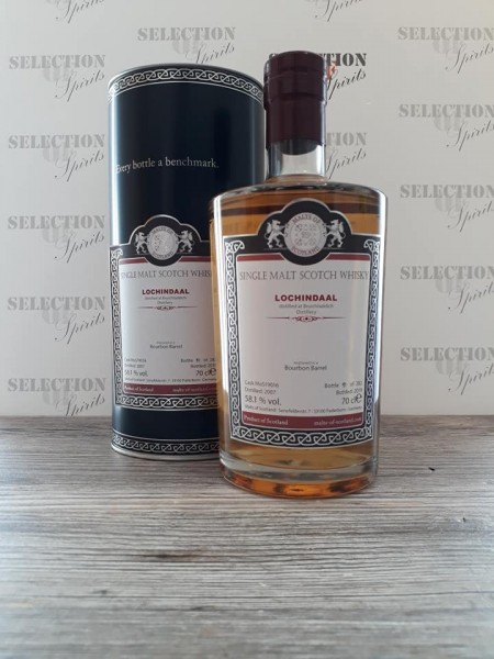 Malts of Scotland LOCHINDAAL 2007/2019 matured in a Bourbon Barrel