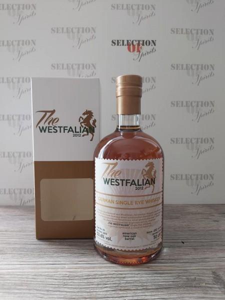 THE WESTFALIAN German Single RYE Whiskey 2015/2020 Amer.New Oak Barrel