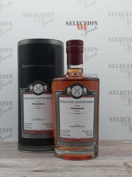 Malts of Scotland TEANINICH 2010/2020 finished in a Amarone Wine Cask