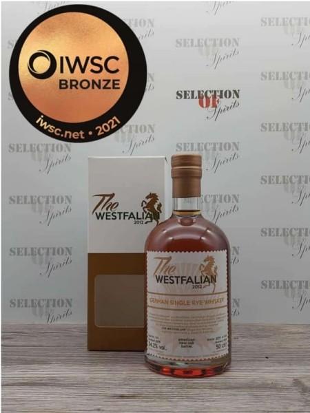 THE WESTFALIAN German Single RYE Whiskey 2016/2021 Amer.New Oak Barrel