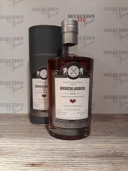 "Malts of Scotland BRUICHLADDICH ""The Valentines Kiss"" Port Wine Hogshead"