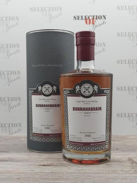 Malts of Scotland BUNNAHABHAIN 1980/2012 Bourbon Hogshead