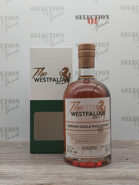 THE WESTFALIAN 2013/2021 Cask32 German Single Malt Whisky -peated- ex.Springbank Portwine Cask