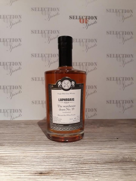 Malts of Scotland Warehouse dram No.19 LAPHROAIG Marsala Red Wine Finish