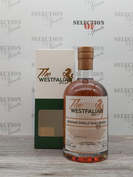 THE WESTFALIAN 2013/2021 Cask 57 German Single Malt Whisky ex.Bowmore Sherry Hogshead