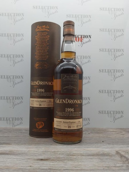 Glendronach Single Cask #4766 Madeira Hogshead 1996/2014