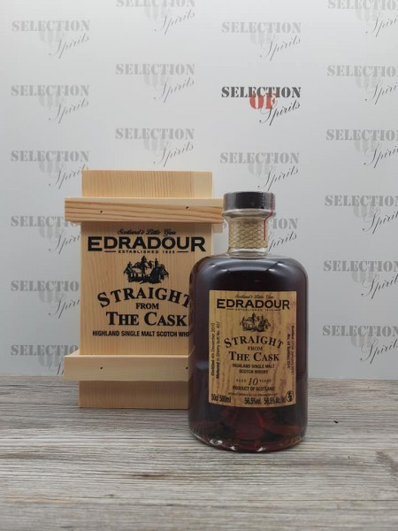 Edradour Straight from the cask 10yo Sherry Cask #407