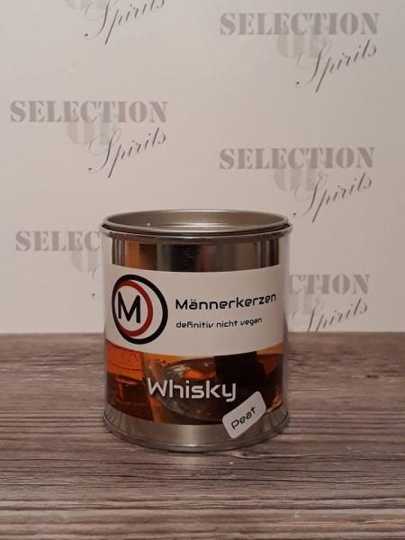 Männerkerzen -das Original- Duftkerze -Whisky PEAT-