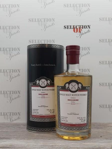 Malts of Scotland DAILUAINE 2010/2020 Bourbon Hogshead