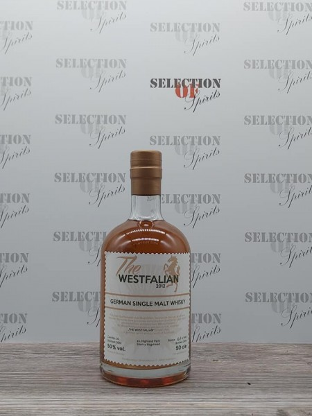 THE WESTFALIAN German Single Malt Whisky 2012/2016 ex.Highland Park Sherry Hogshead