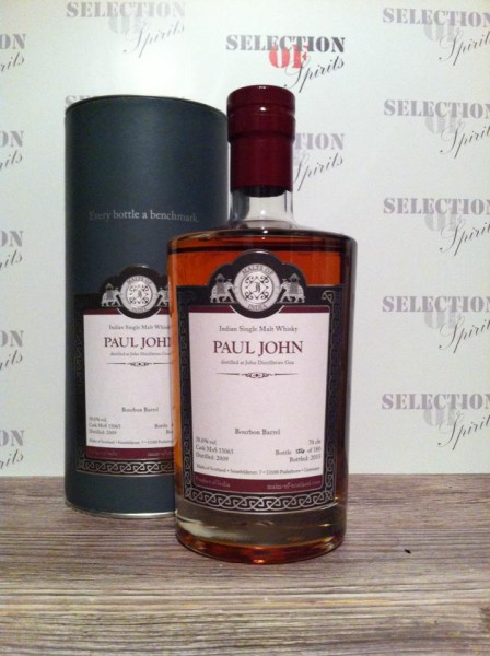 Malts of India Paul John Bourbon Barrel 2009/2015