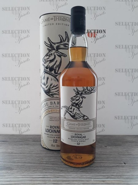 Game of Thrones Royal Lochnagar 12-year-old - House Baratheon -