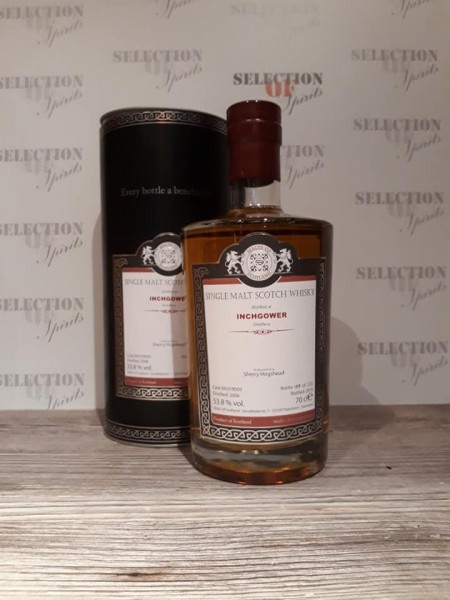 Malts of Scotland INCHGOWER 2006/2019 matured in a Sherry Hogshead