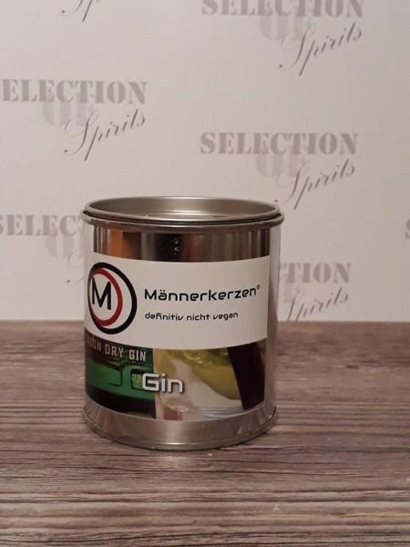 Männerkerzen -das Original- Duftkerze -Gin-