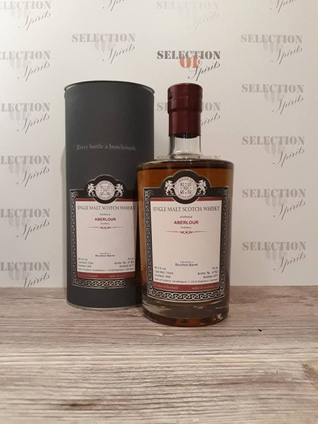 Malts of Scotland ABERLOUR 1990/2017 Bourbon Barrel