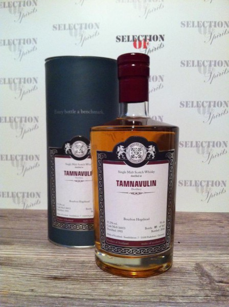 Malts of Scotland Tamnavulin 1993/2016 Bourbon Hogshead