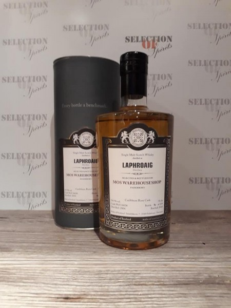 Malts of Scotland LAPHROAIG -Warehouse Range- Caribbean Rum Cask