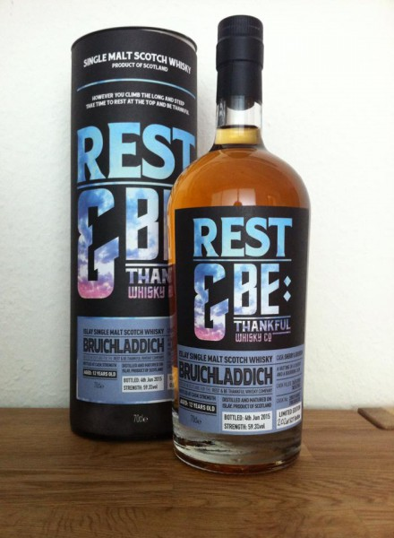 Rest&Be Thankful Bruichladdich -Sherry & Bourbon-