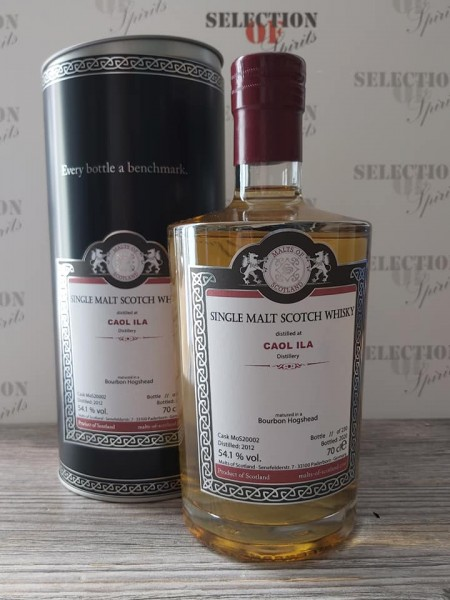 Malts of Scotland CAOL ILA 2012/2020 matured in a Bourbon Hogshead