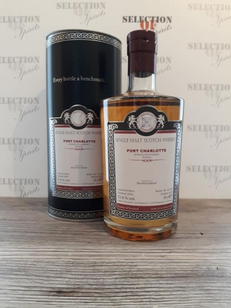 Malts of Scotland PORT CHARLOTTE 2004/2019 matured in a Bourbon Barrel