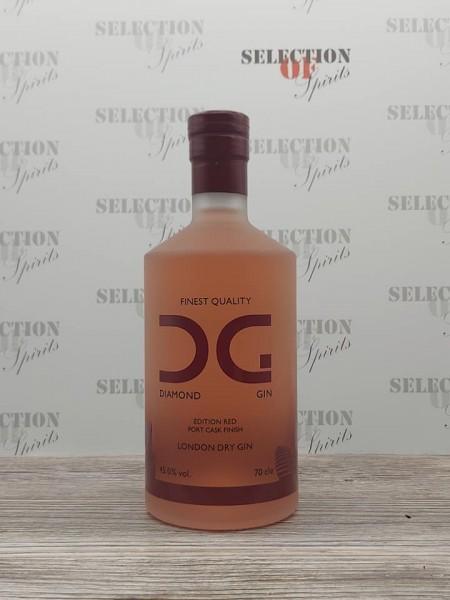Diamond Gin London Dry -Port Cask Finish-
