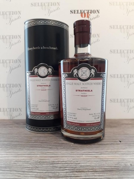 Malts of Scotland STRATHISLA 1989/2019 matured in a Sherry Hogshead