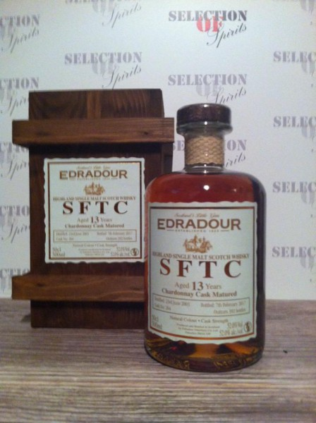 Edradour Straight from the cask 13yo Chardonnay Cask Matured